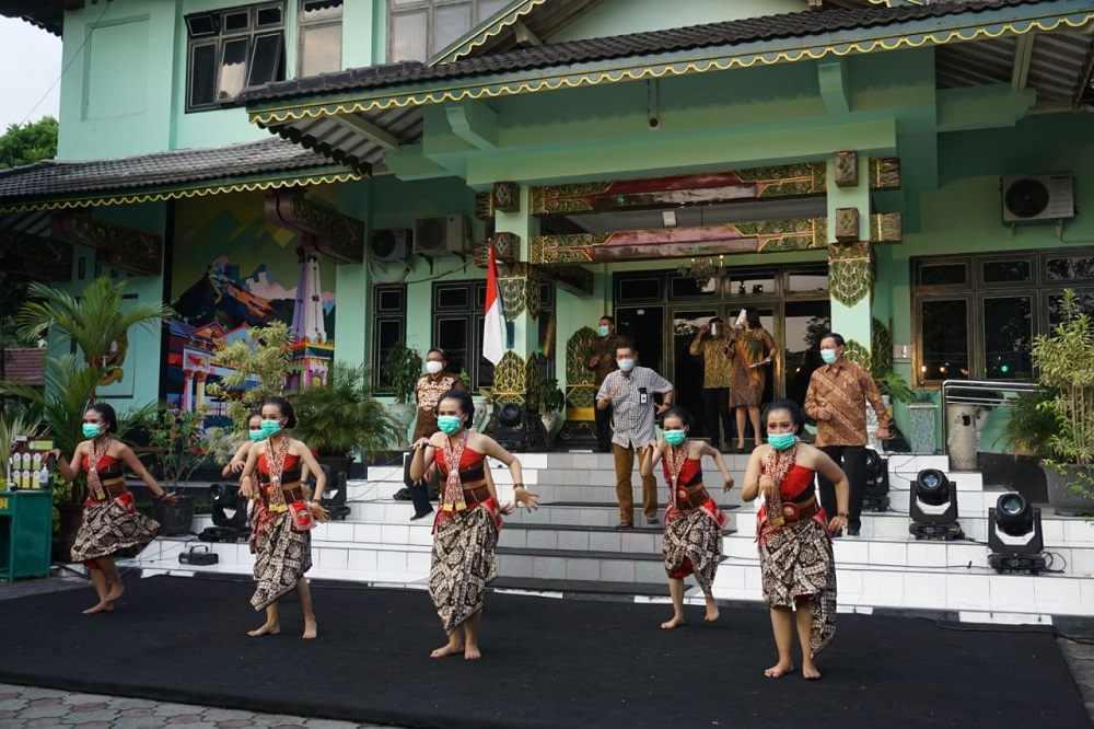 Pentas Virtual Peringati Hari Ulang Tahun Kota Yogyakarta ke-264