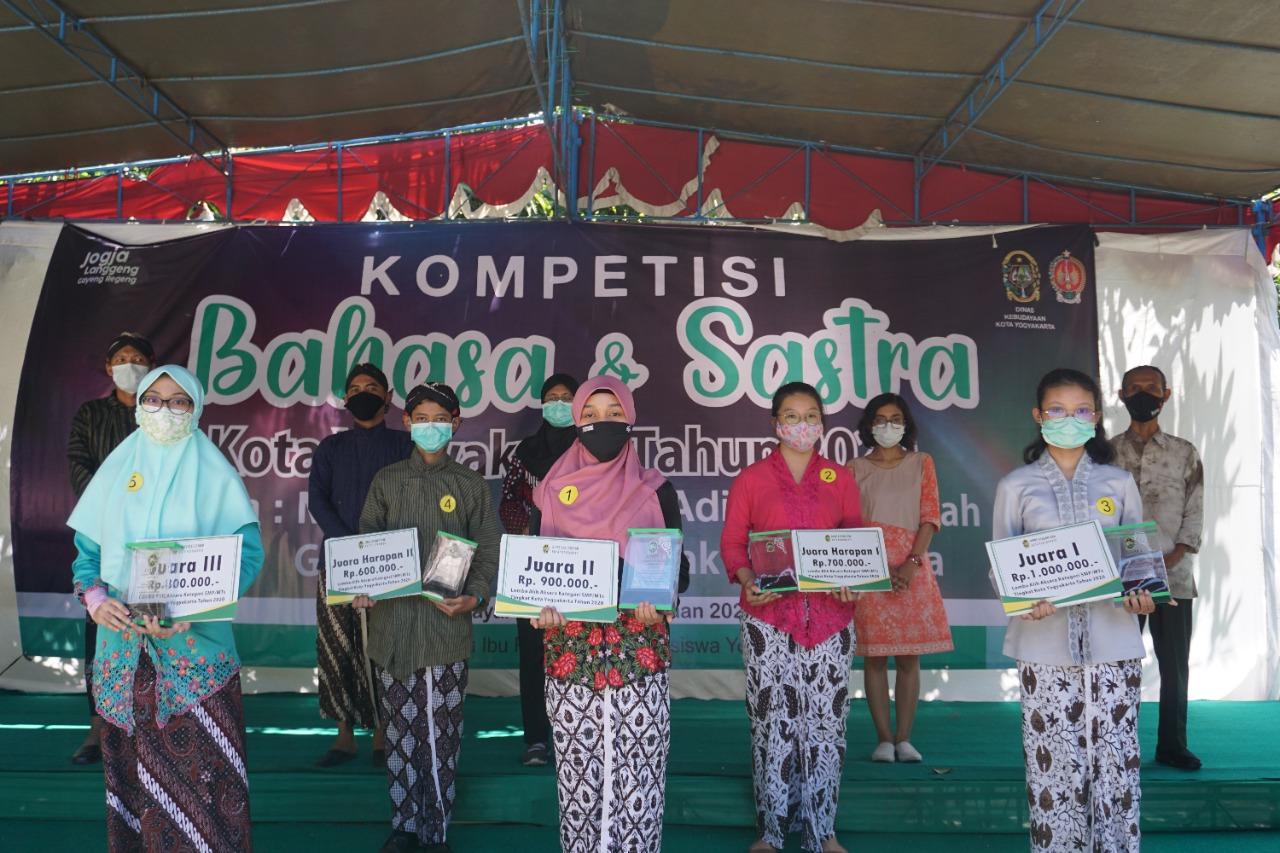 Dinas Kebudayaan Kota Yogyakarta Gelar Kompetisi Bahasa dan Sastra 2021