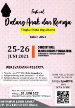 Festival Dalang Anak dan Remaja Tingkat Kota Yogyakarta