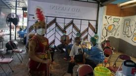 Vaksinasi Pelaku Seni Budaya Digelar di Kota Yogyakarta