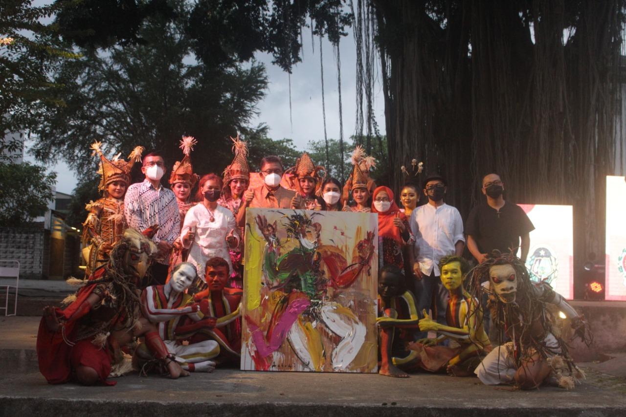 Dukungan Dinas Kebudayaan Kota Yogyakarta kepada Seniman Perupa dalam Festival Kebudayaan Yogyakarta Tahun 2021